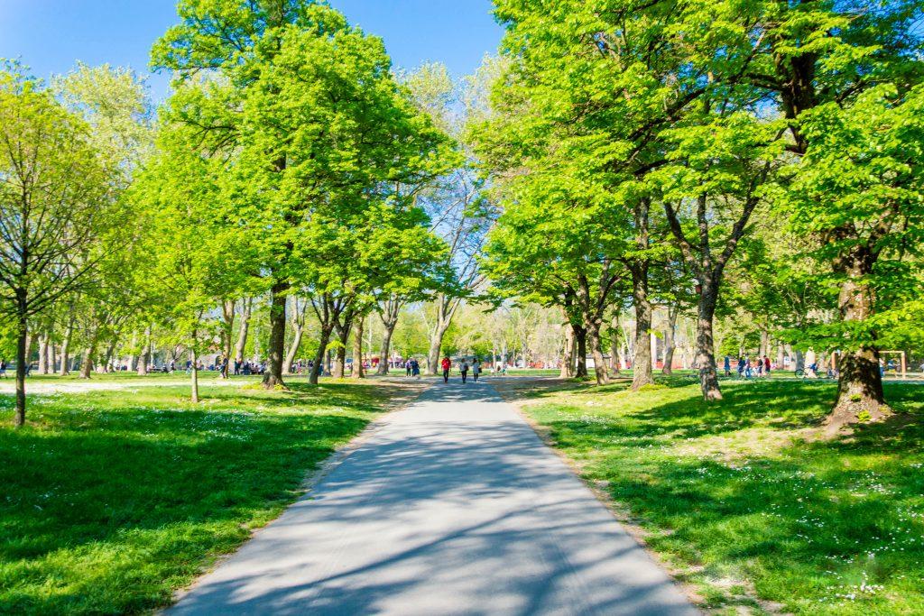 Parco della Cittadella, Parma