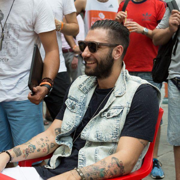 Pietro Aradori - Mi Games Supporter