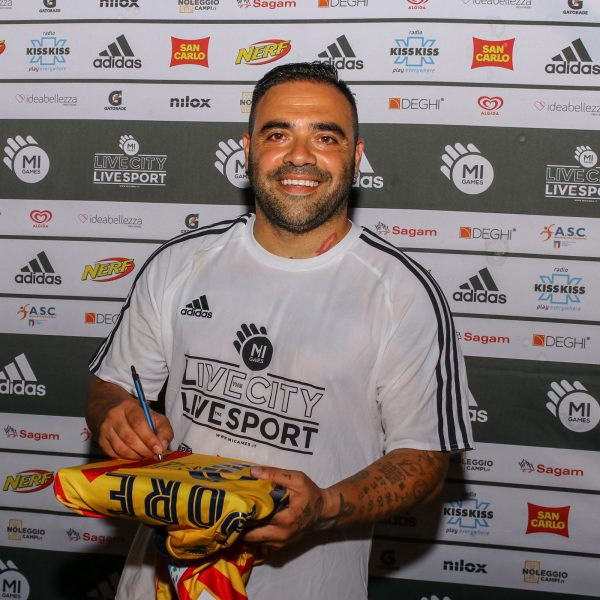 Fabrizio Miccoli - Player Mi Games Lecce 2018