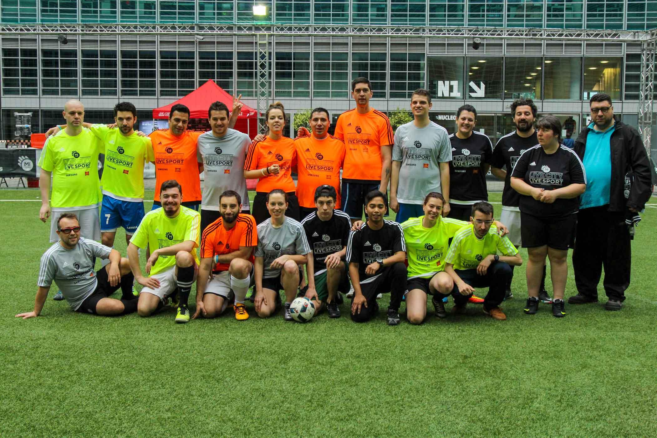 Torneo di calcio integrato a Mi Games Milano 2016
