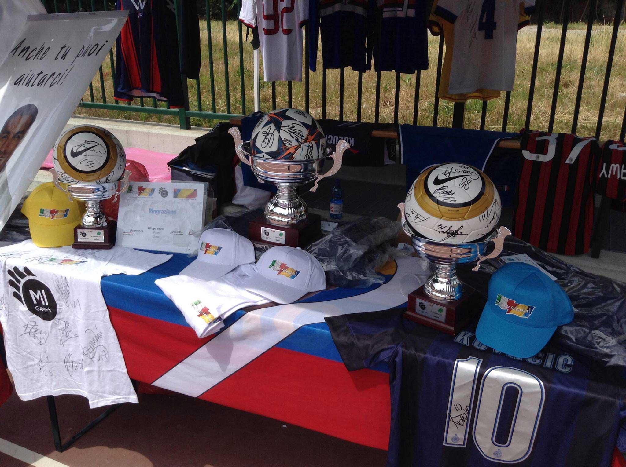 Lotteria benefica Italia Por Colombia e Mi Games