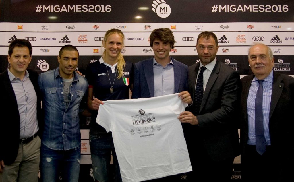 Conferenza stampa Mi Games 2016