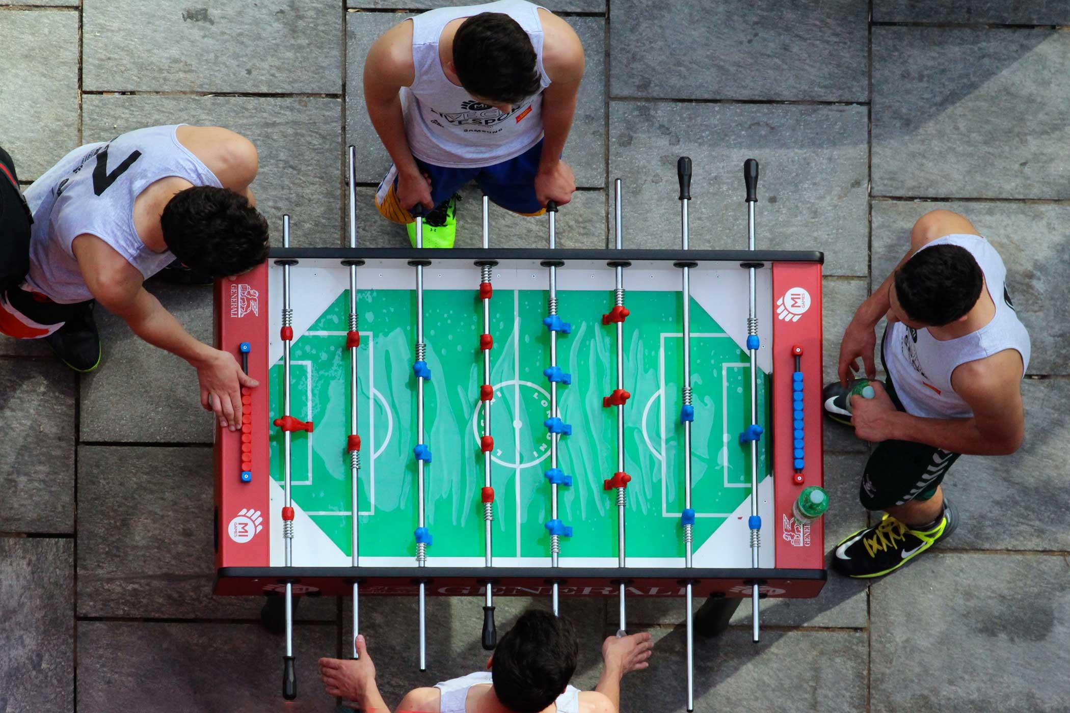 Generali e Mi Games - torneo di calcio balilla