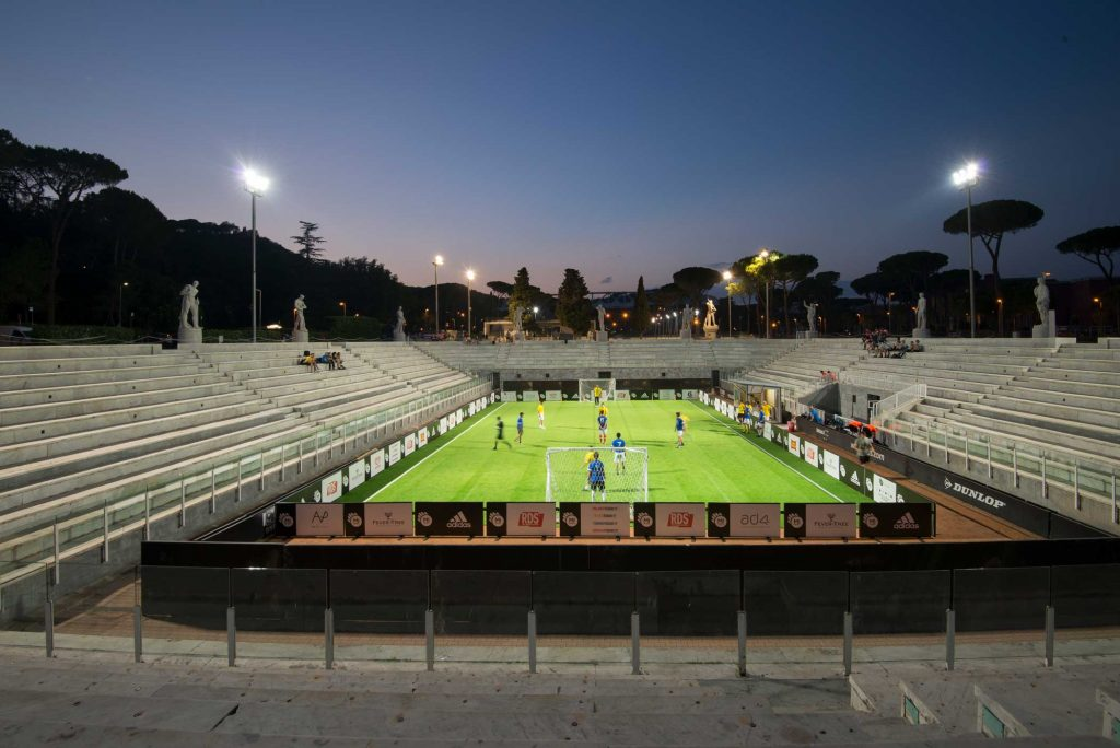 Mi Games 2017 - Roma, campo calcio stadio pietrangeli