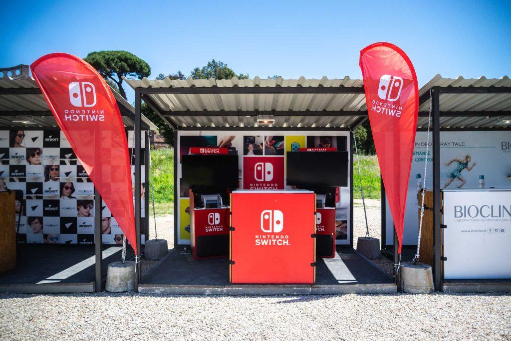 Nintendo Mi Games 2019 - Stand con console