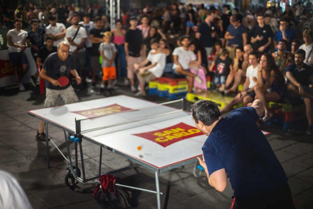 San Carlo e Mi Games - torneo di Ping Pong